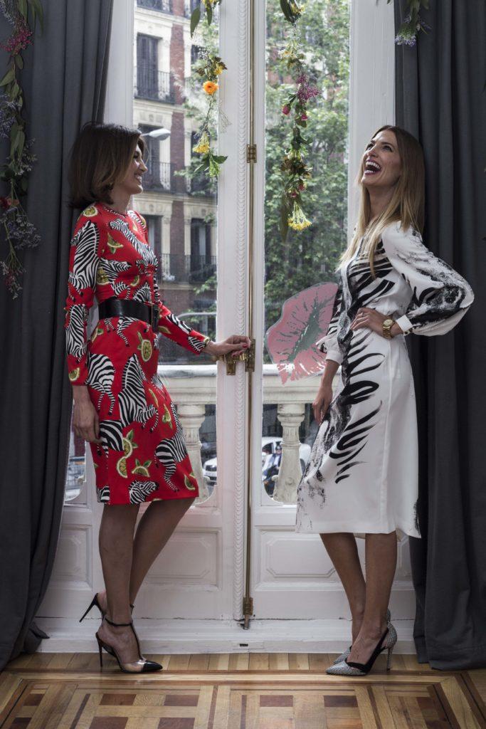 Nieves Álvarez y Laura Sánchez