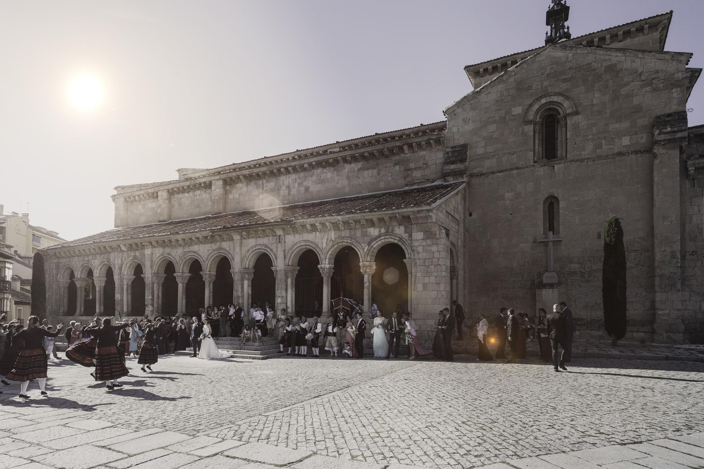Boda en la Iglesia Vera Cruz de Segovia
